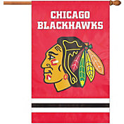 Party Animal Chicago Blackhawks Applique Banner Flag