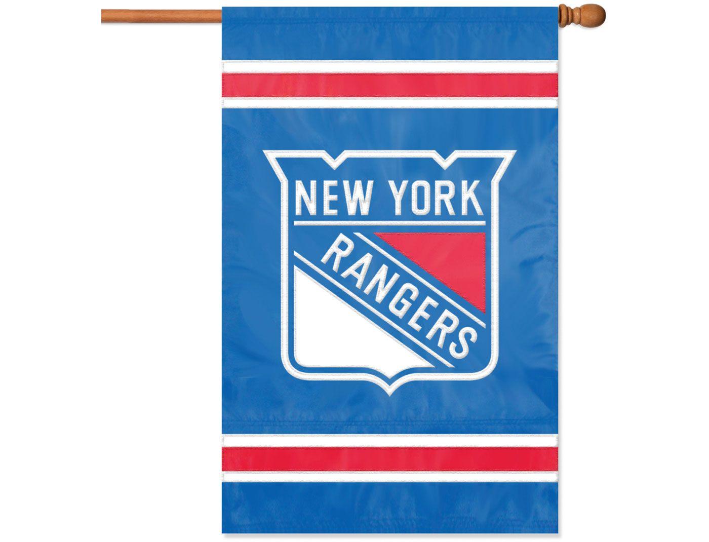 Party Animal New York Rangers Applique Banner Flag