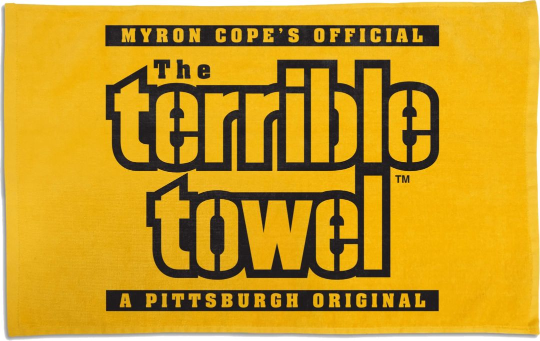 competitive price cd286 7dec6 Pittsburgh Steelers Terrible Towel