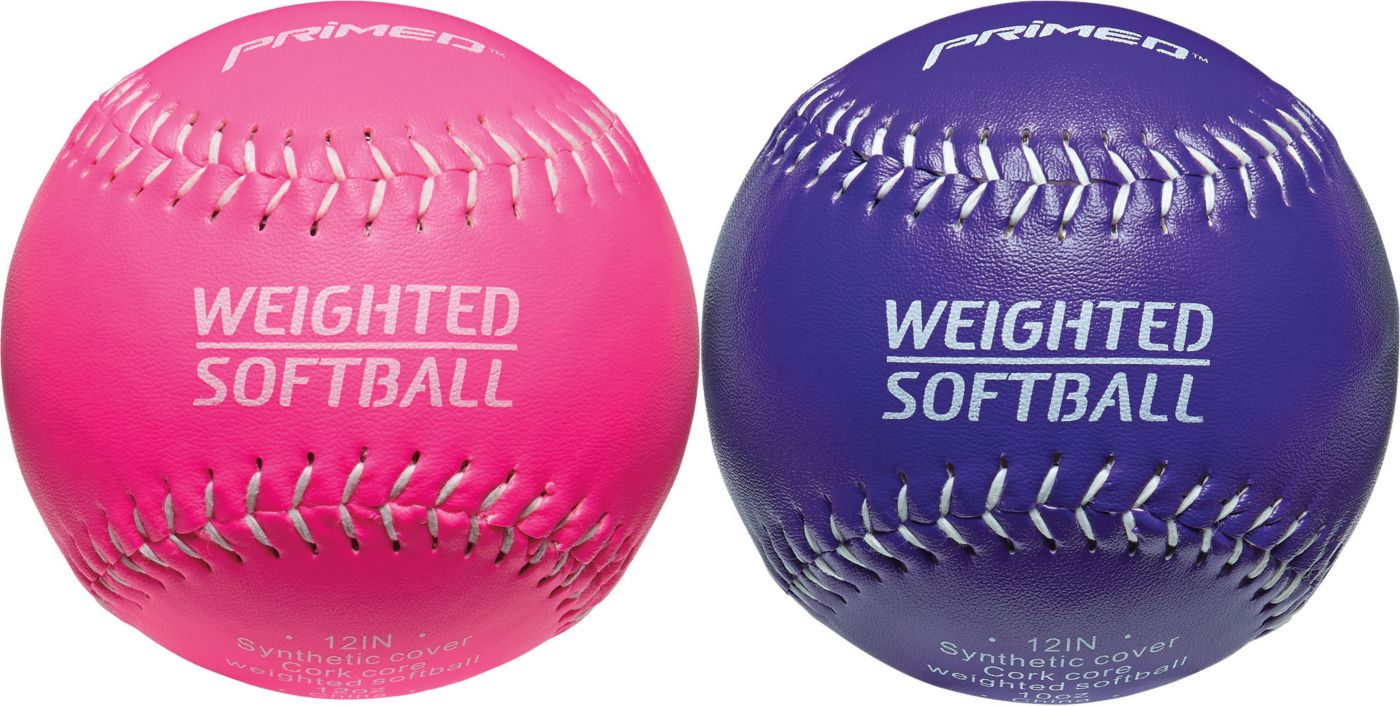 """PRIMED 12"""" Weighted Softballs - 2 Pack"""