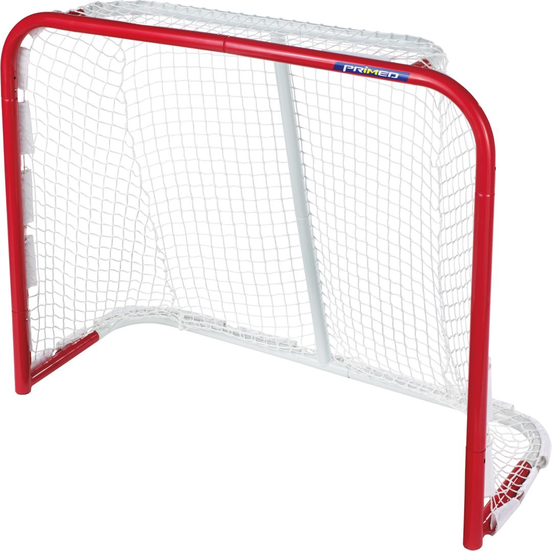 PRIMED 54'' Authentic Metal Hockey Goal
