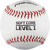 PRIMED Soft Core Level 1 Baseballs - 3 Pack