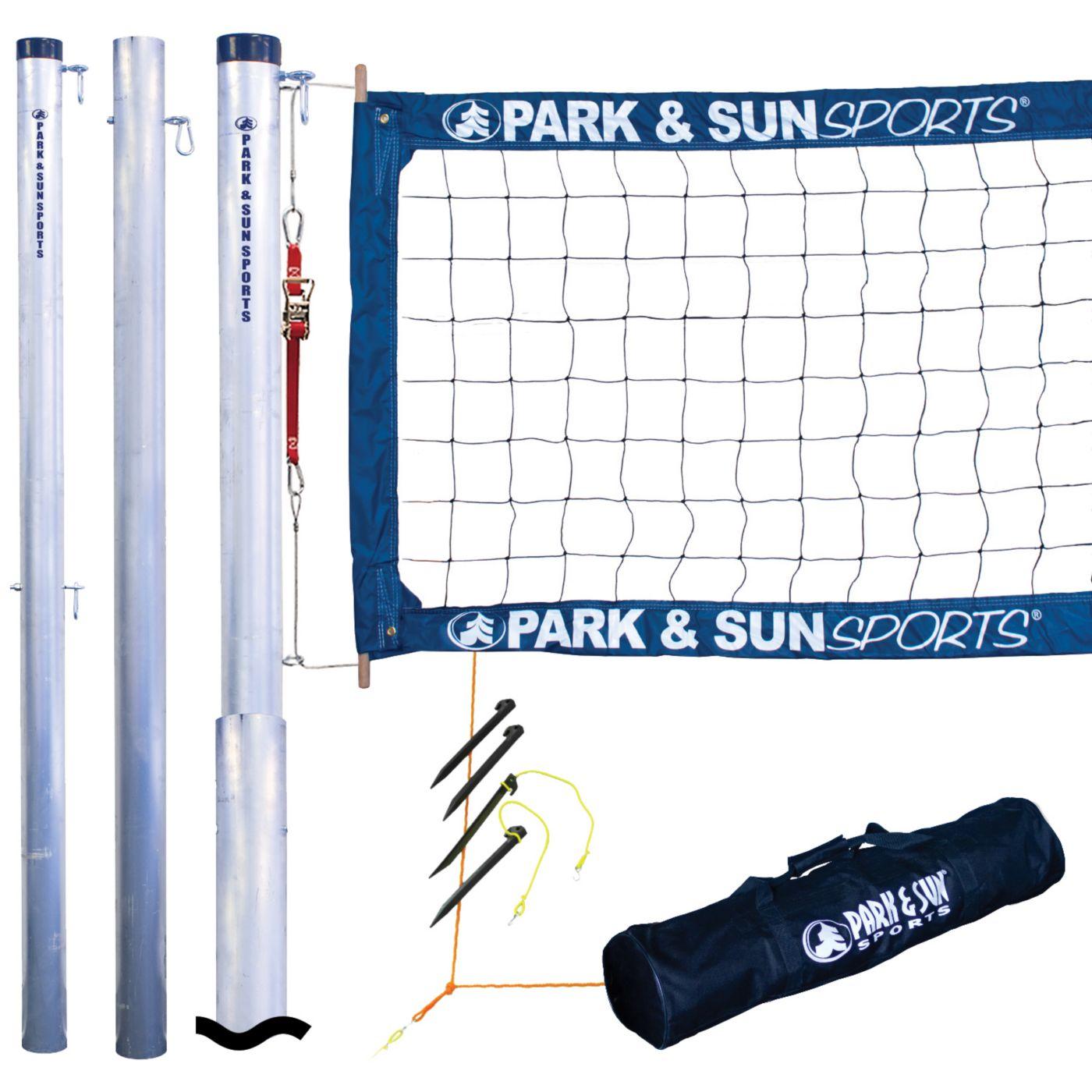 Park & Sun Tournament 4000 Telescopic Volleyball Net System