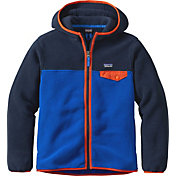 Patagonia Boys' Lightweight Synchilla Snap-T Fleece Hoodie