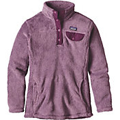 Patagonia Girls' Re Tool Snap T Fleece Jacket
