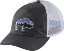Patagonia Women s Fitz Roy Bison Layback Trucker Hat. Forge Grey 8773d02e7644