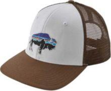 d89648bc027dc Patagonia Men  39 s Fitz Roy Bison Trucker Hat