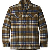Patagonia Men's Fjord Flannel Button Up Long Sleeve Shirt