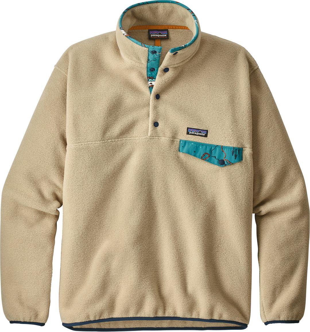 78e0dcfbf99 Patagonia Men's Lightweight Synchilla Snap-T Fleece Pullover