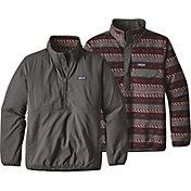Patagonia Men's Reversible Snap-T Glissade Pullover
