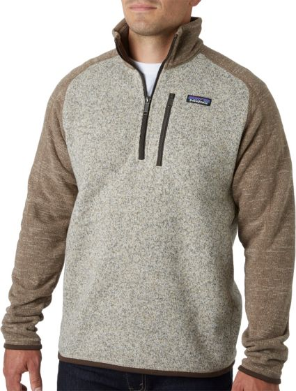 693d2445ad20c3 Patagonia Men's Better Sweater 1/4 Zip Fleece Pullover | DICK'S ...