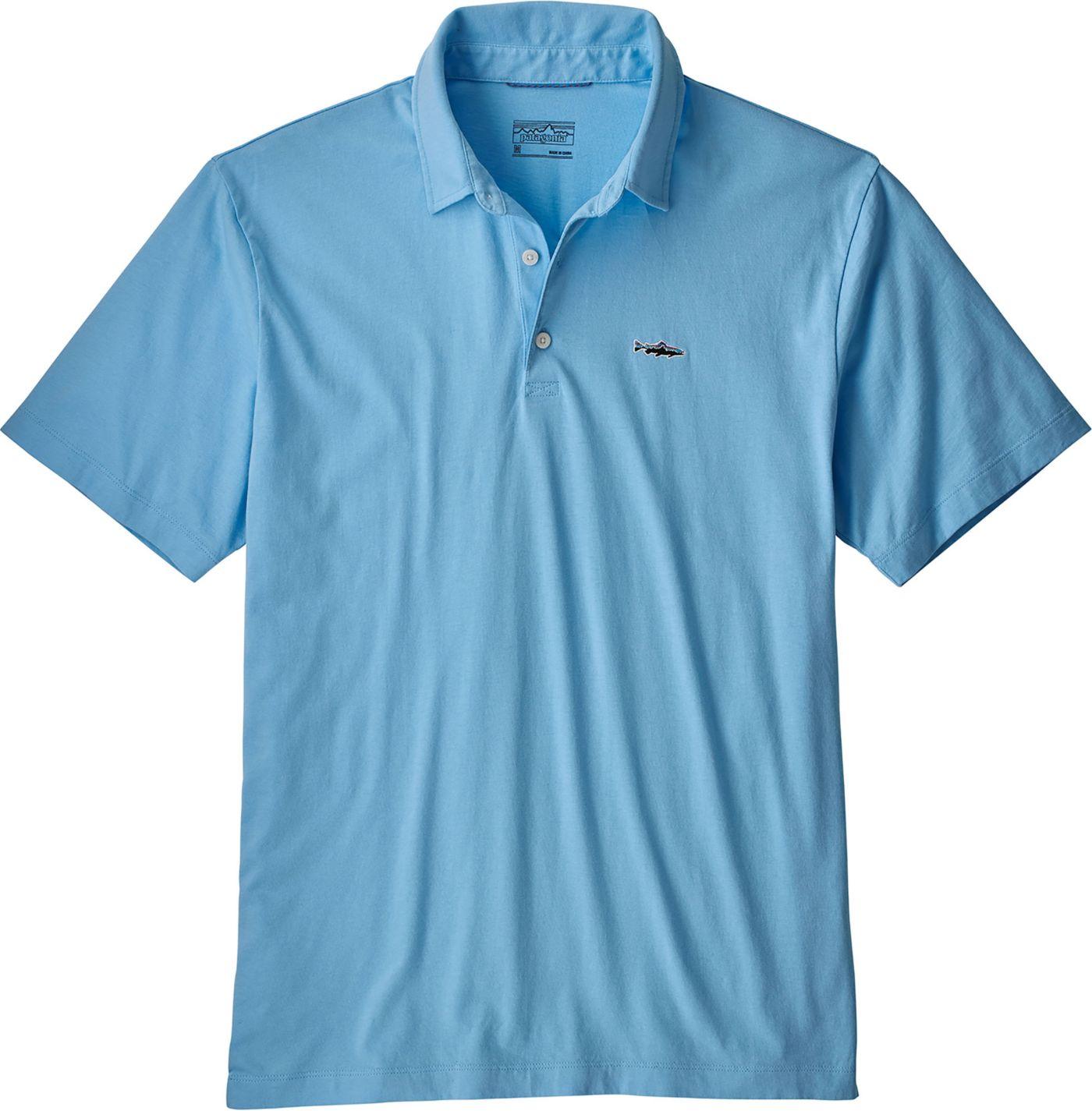 Patagonia Men's Trout Fitz Roy Polo Shirt