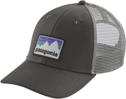 d13288810b2 Patagonia Men s Shop Sticker Patch LoPro Trucker Hat. noImageFound