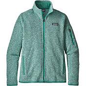 Patagonia Women's Better Sweater Fleece Jacket in Lite Distilled Green