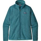 Patagonia Women's Better Sweater Fleece Jacket in Tasmanian Teal
