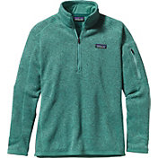 Patagonia Women's Better Sweater Quarter Zip Fleece Jacket