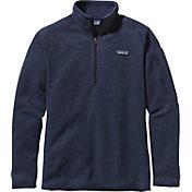 Patagonia Women's Better Sweater Quarter Zip Fleece Jacket in Classic Navy