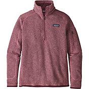Patagonia Women's Better Sweater Quarter Zip Fleece Jacket