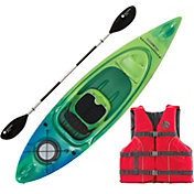 Perception Swifty Deluxe 9.5 Angler Kayak Package