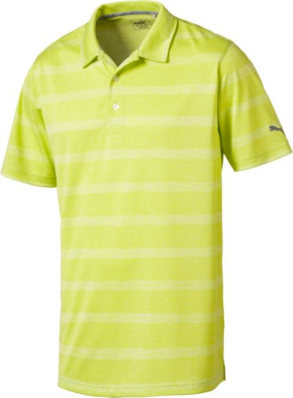 PUMA Pounce Stripe Polo