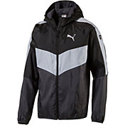 Puma Men's ESS Colorblock Windbreaker Jacket