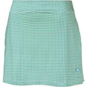 PUMA Women's Pinwheel Knit Golf Skort