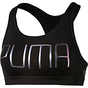 Puma Women's PWRSHAPE Forever Puma Graphic Sports Bra