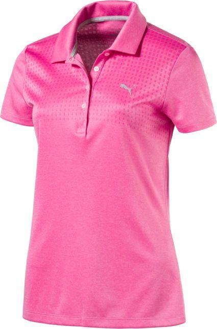 PUMA Women's Jacquard Polo