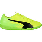 PUMA Kids' evoSPEED 17.4 IT Indoor Soccer Shoes
