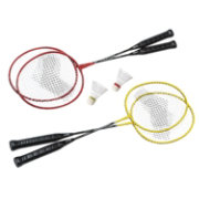 Quest 4 Player Badminton Racquet Set