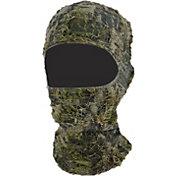 QuietWear 3D Grassy Camo Facemask