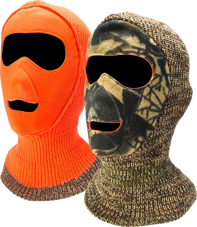 QuietWear Reversible Camo Facemask, Men's