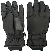 QuietWear Men's Waterproof Thinsulate Gloves