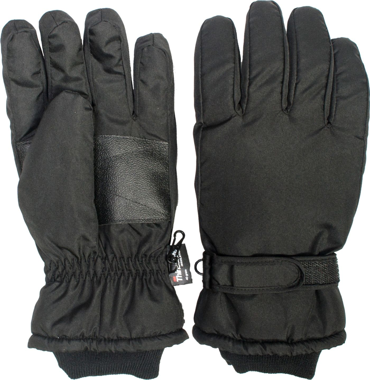 QuietWear Men's Waterproof Thinsulate Gloves