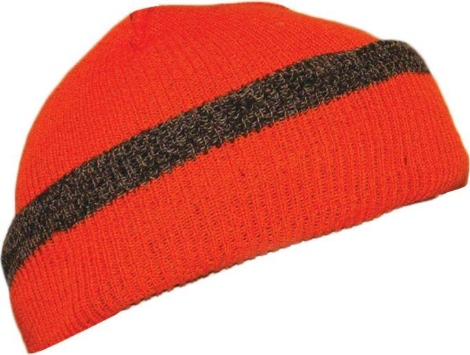 Quietwear Mens Reversible Knit Fleece Visor Hat