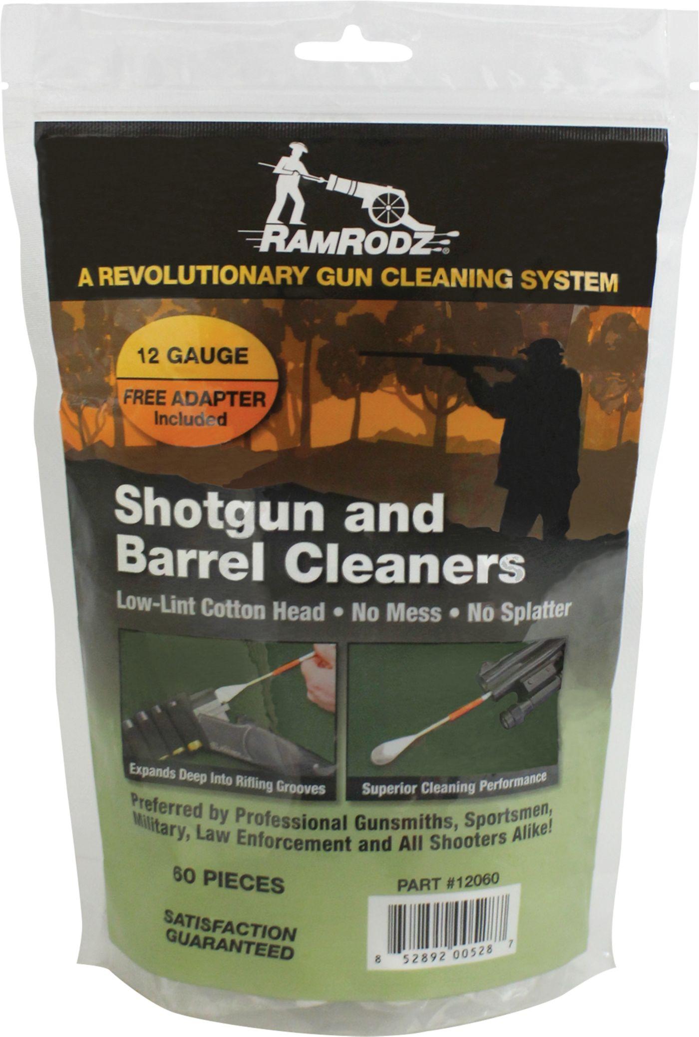 RamRodz 12 Gauge Shotgun and Barrel Cleaners – 60 Swabs