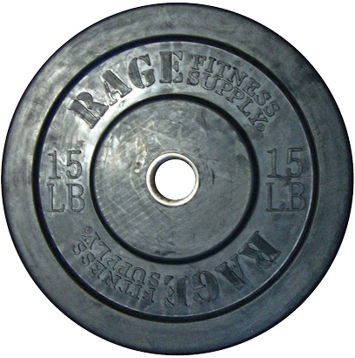 RAGE 15 lb Olympic Bumper Plate