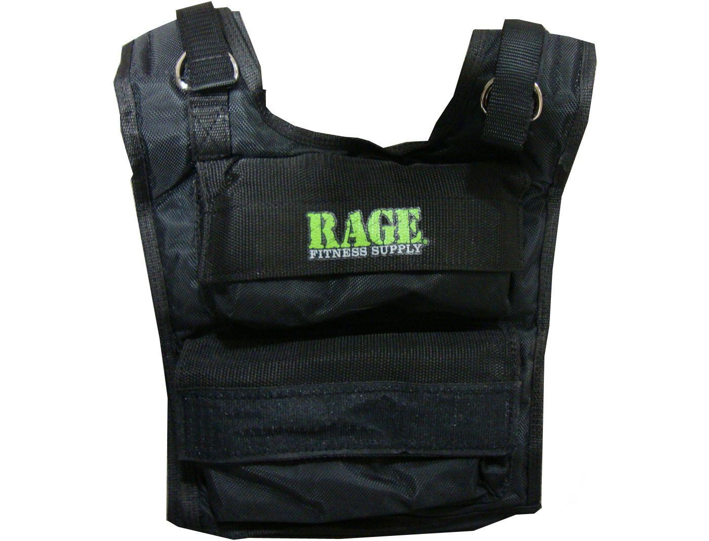 RAGE 3 - 36 lb Adjustable Weighted Vest