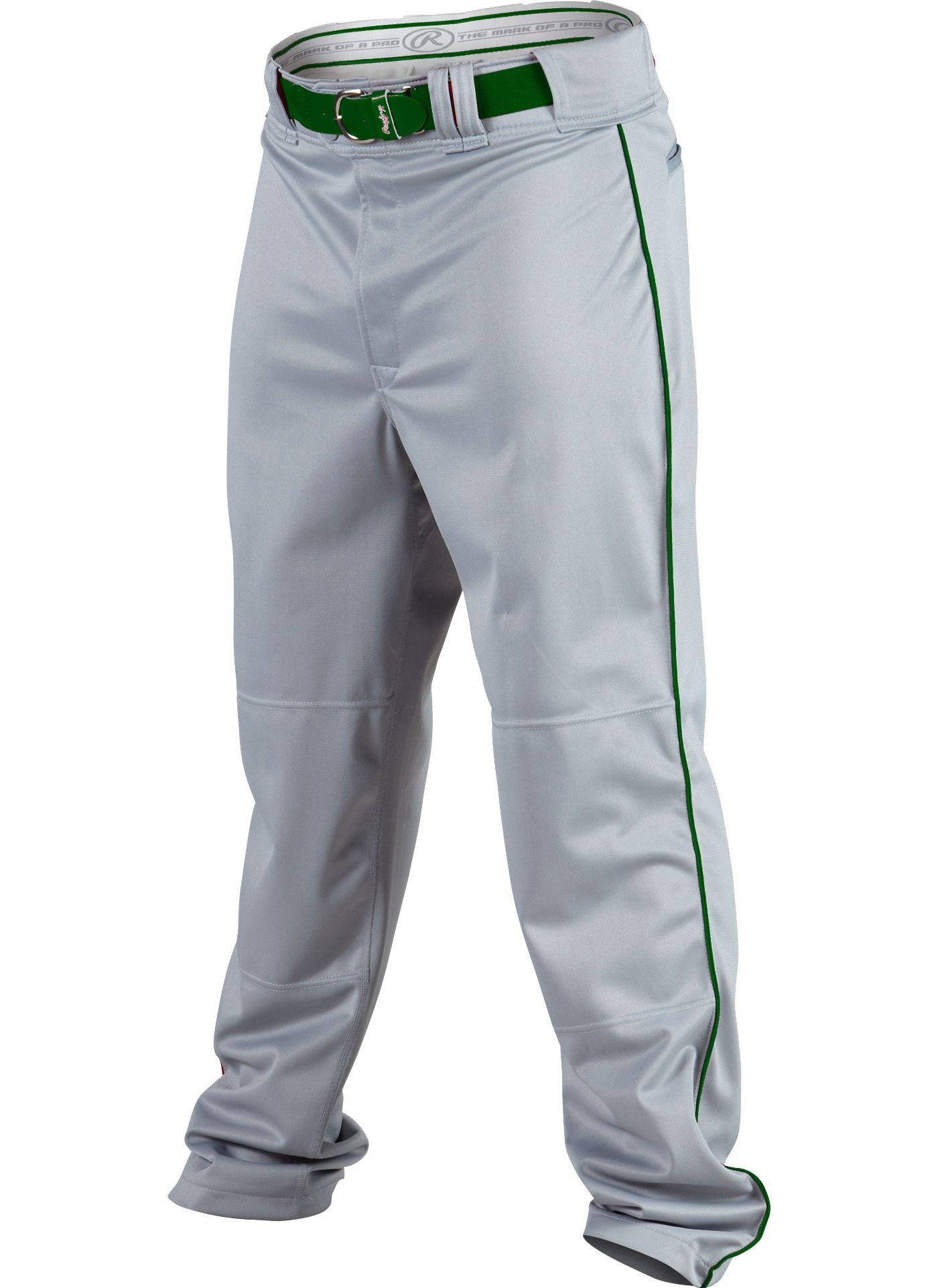 Rawlings Men's Premium Plated Piped Baseball Pants