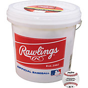 Rawlings Synthetic Leather Practice Baseball Bucket - 24 Pack