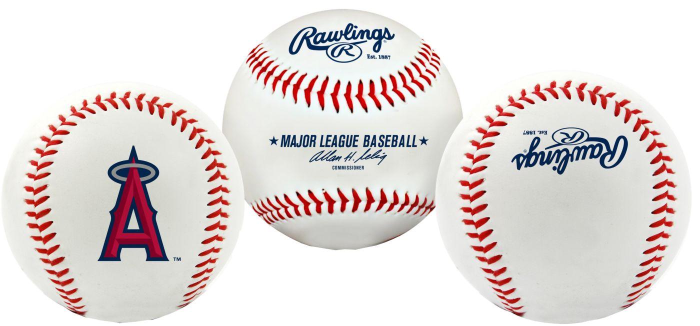 Rawlings Los Angeles Angels Team Logo Baseball