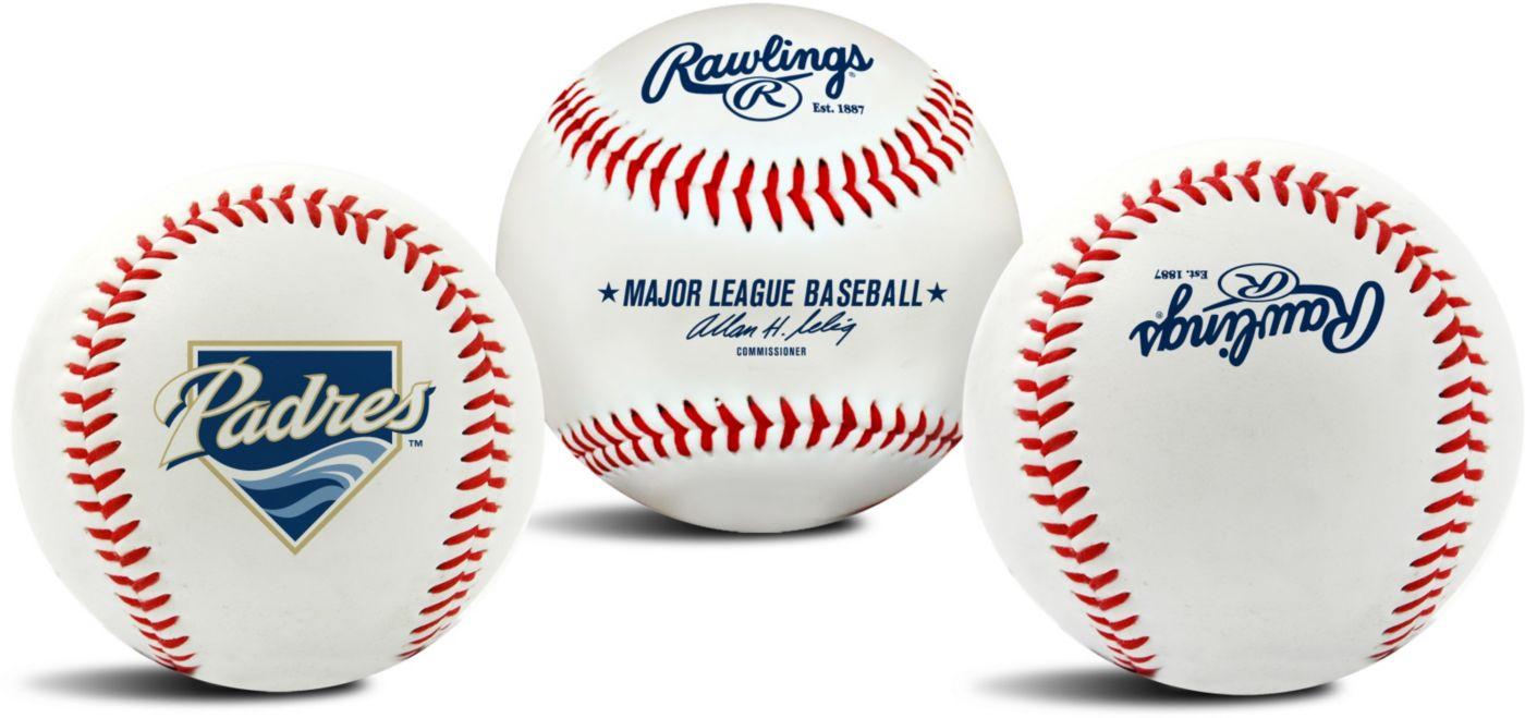 Rawlings San Diego Padres Logo Baseball