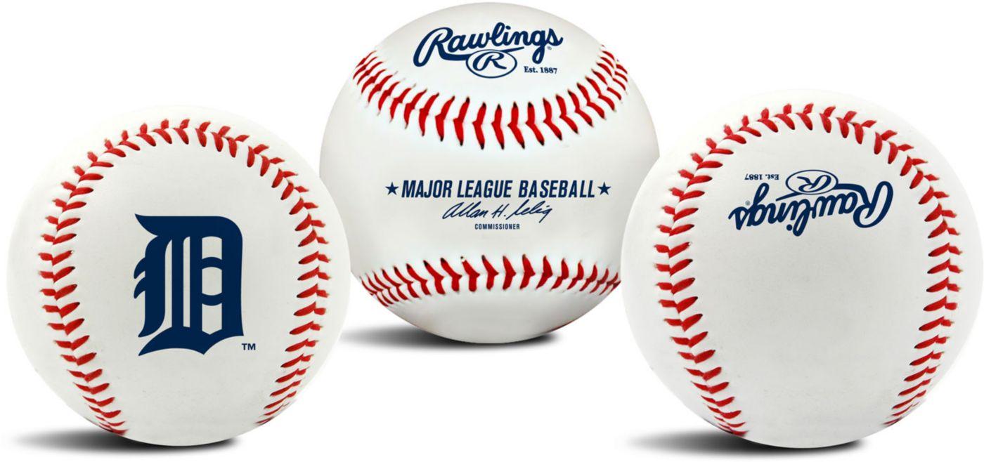 Rawlings Detroit Tigers Logo Baseball