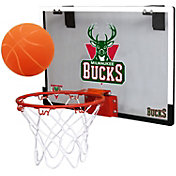 Rawlings Milwaukee Bucks Game On Polycarbonate Hoop Set