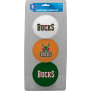 Rawlings Milwaukee Bucks Softee Basketball Three-Ball Set