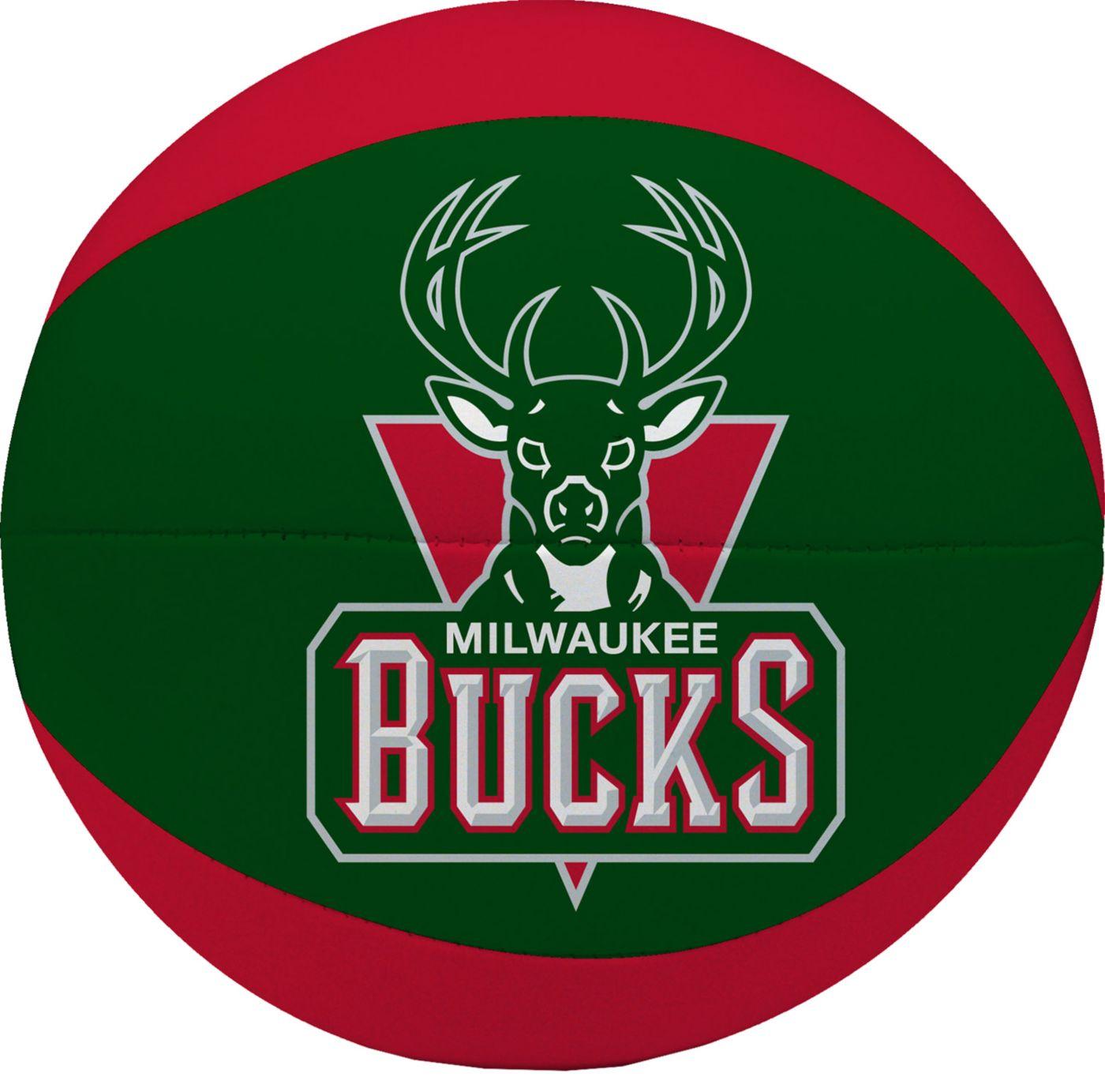 "Rawlings Milwaukee Bucks 4"" Softee Basketball"