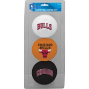 Rawlings Chicago Bulls Softee Basketball Three-Ball Set