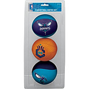 Rawlings Charlotte Hornets Softee Basketball 3-Ball Set