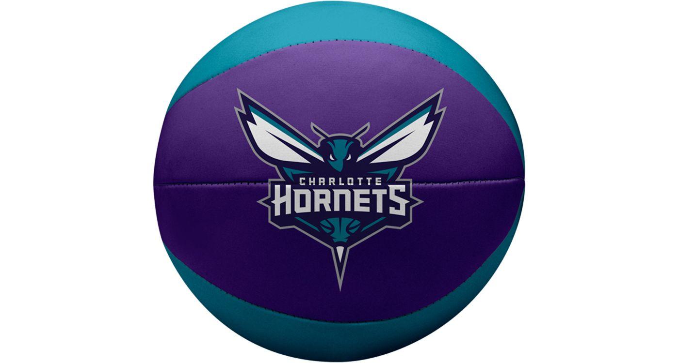 "Rawlings Charlotte Hornets 4"" Softee Basketball"