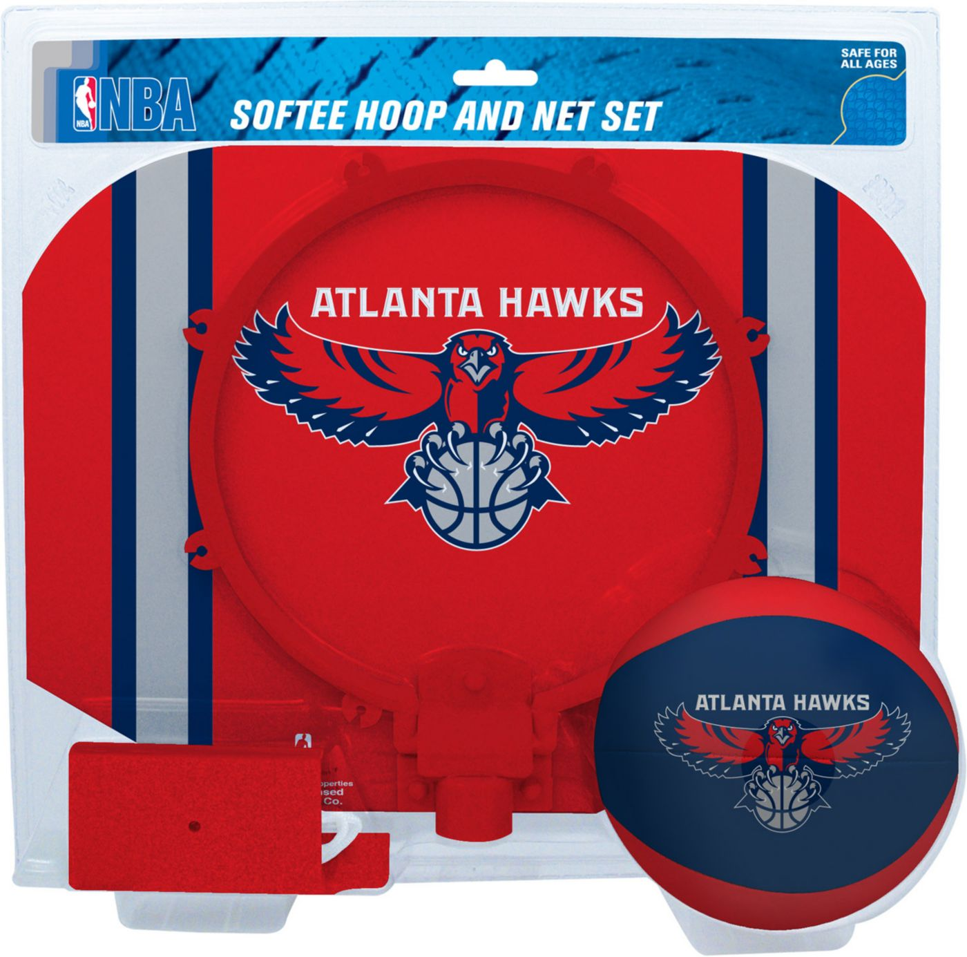 Rawlings Atlanta Hawks Softee Hoop Set